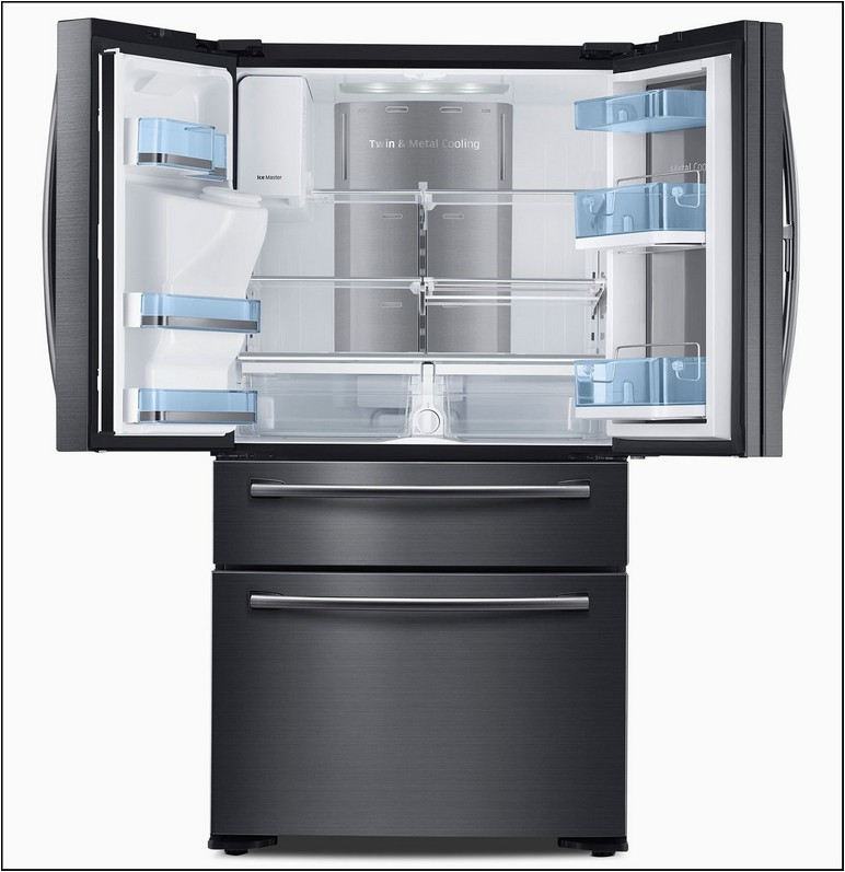 33 Inch Wide Counter Depth Stainless Steel Refrigerator