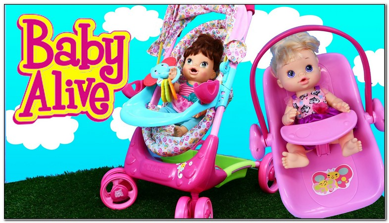 Baby Alive Doll Stroller And Carseat