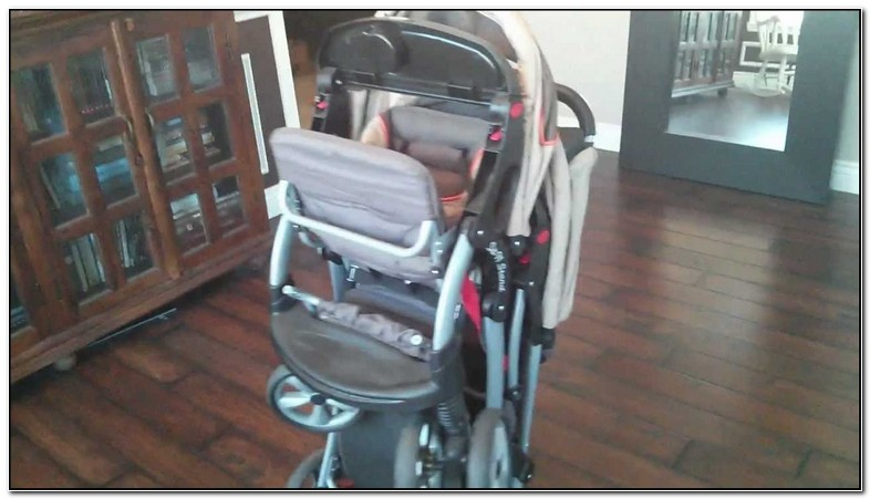 Baby Trend Sit And Stand Double Stroller Folded Dimensions