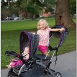 Baby Trend Sit And Stand Double Stroller Purple