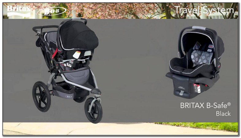 Britax Car Seat And Stroller Set