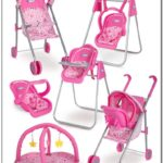 Graco Baby Doll Stroller And Swing