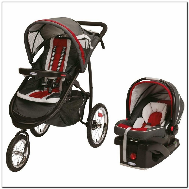 Graco Jogging Stroller With Car Seat   Design innovation