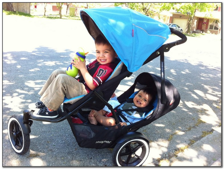 How To Collapse Phil And Teds Double Stroller