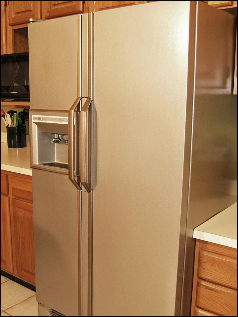 How To Paint A Refrigerator Stainless Steel