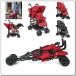 Lightweight Small Double Stroller