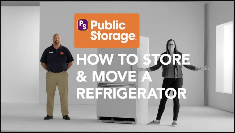 Moving A Refrigerator On Its Side