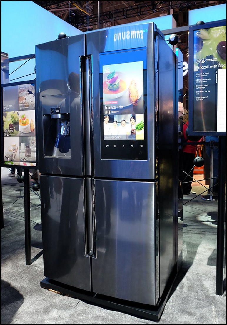 Samsung Refrigerator With Touch Screen