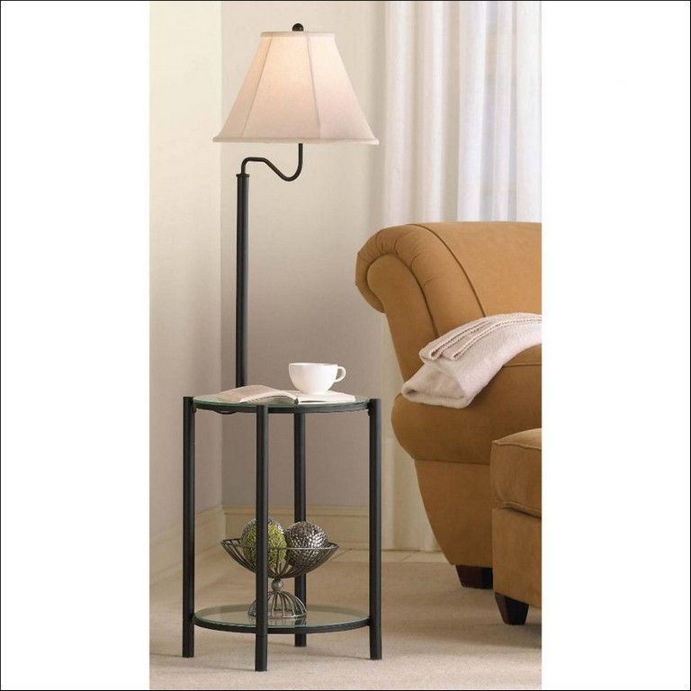 Silver Colorful Floor Lamp