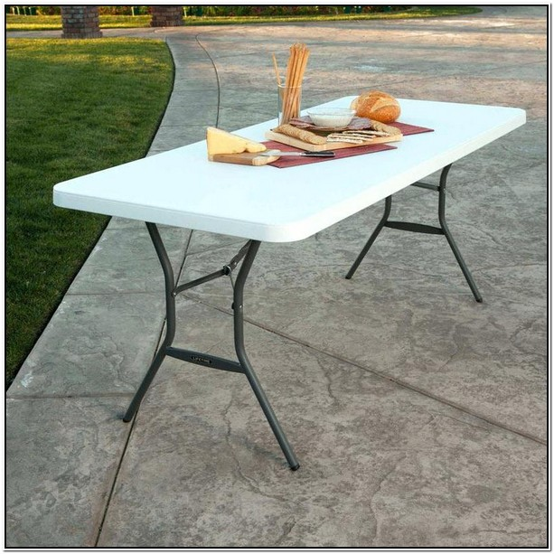 5 Foot Folding Table Lifetime