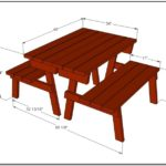 Average Picnic Table Dimensions