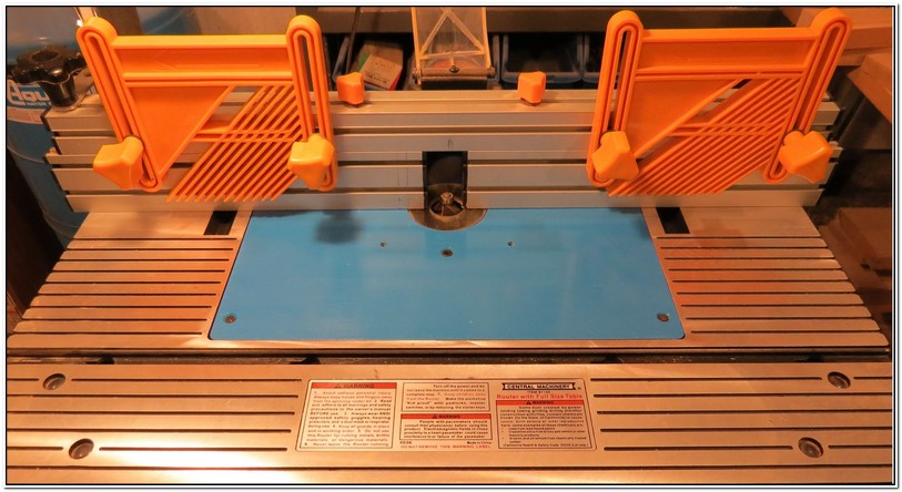 Harbor Freight Router Table Plate