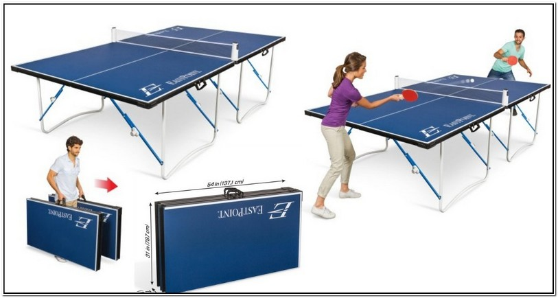 Ping Pong Table Walmart In Store