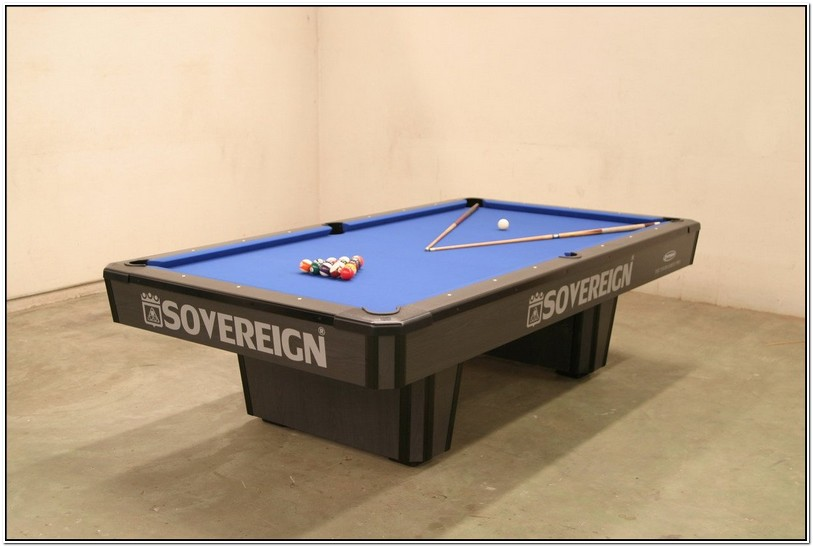 Tournament Regulation Pool Table Size