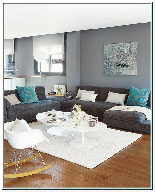 What Colour Sofa Goes With Grey Walls