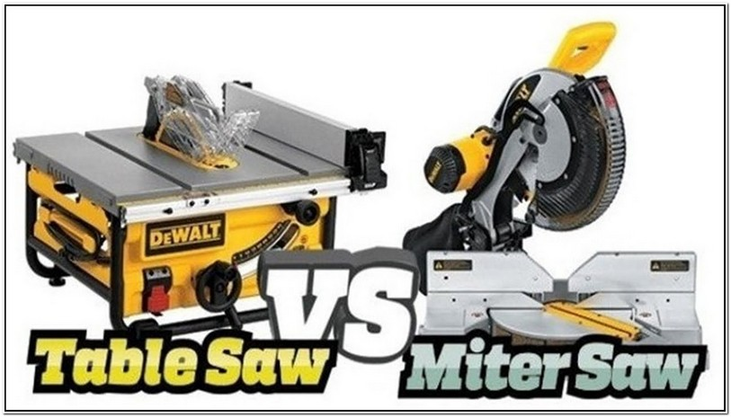 When To Use Miter Saw Vs Table Saw