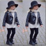 Baby Girl Leather Jacket