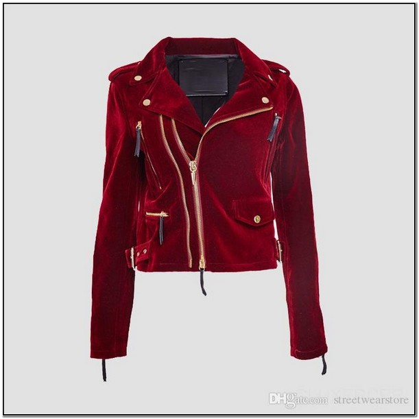 Black And Red Bomber Jacket Womens