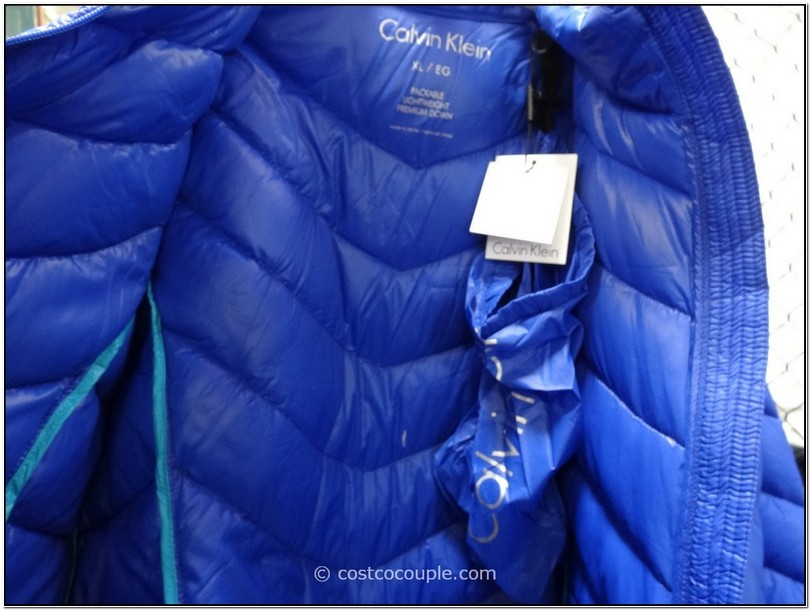 Calvin Klein Packable Lightweight Premium Down Jacket Costco