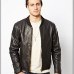 Cheap Mens Leather Bomber Jackets