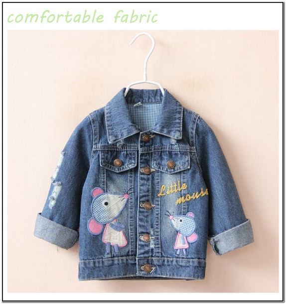 Childrens Jean Jackets Wholesale