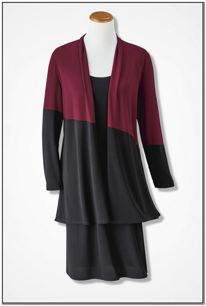 Coldwater Creek Jacket Dress