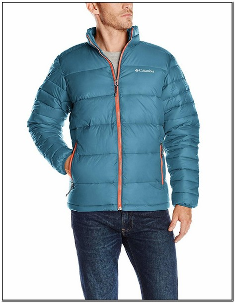 Columbia Mens Frost Fighter Puffer Jacket