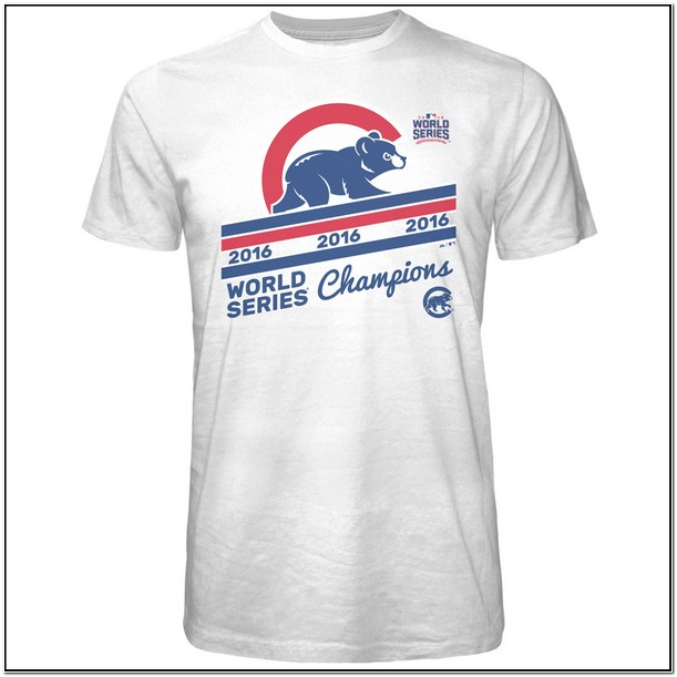 Cubs World Series Apparel