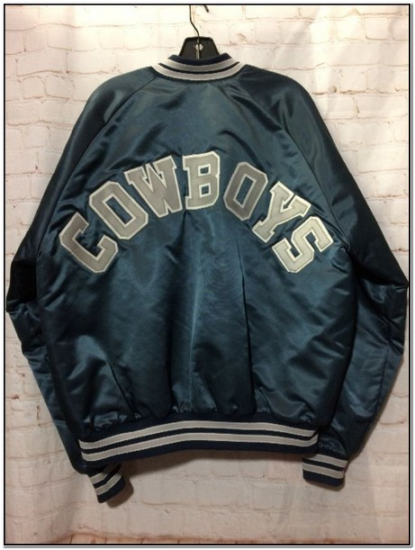 Dallas Cowboys Leather Starter Jacket