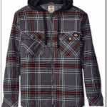 Dickies Flannel Jacket With Hood