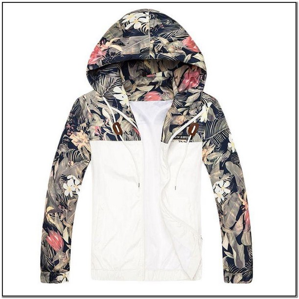 Floral Bomber Jacket Mens