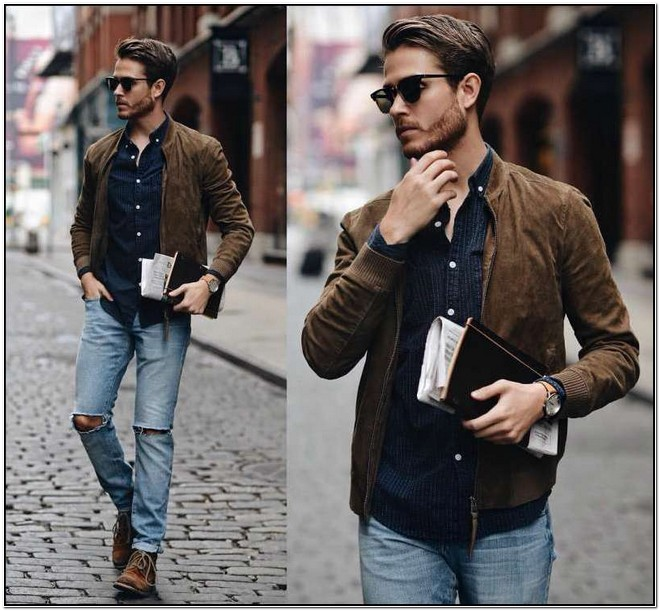 How To Wear A Bomber Jacket Mens Fashion