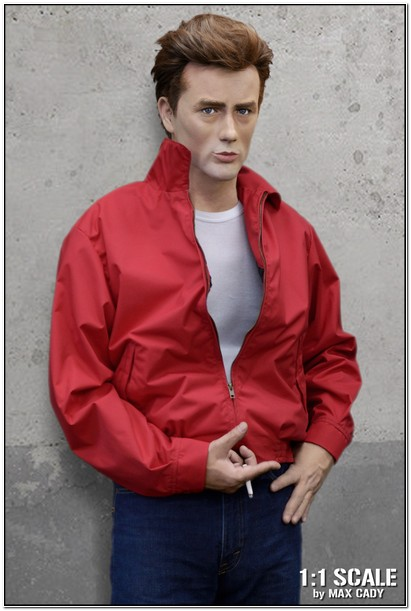 James Dean Red Nylon Jacket