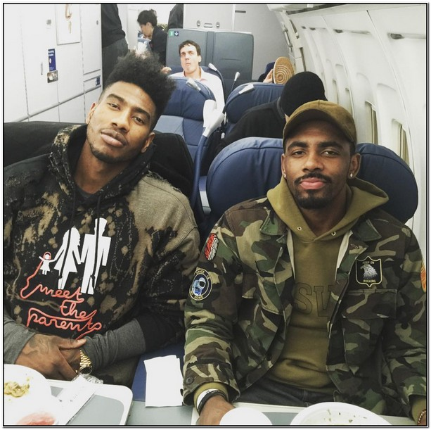 Kyrie Irving Camo Jacket