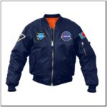 Logic Bomber Jacket Nasa