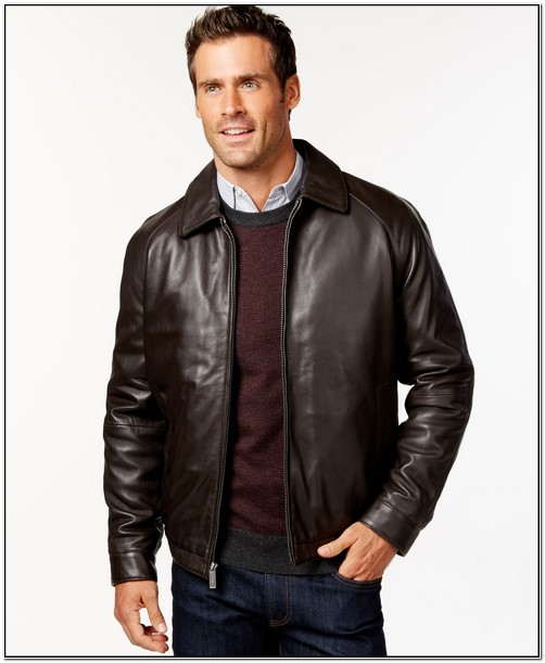 Macys Big And Tall Leather Jackets