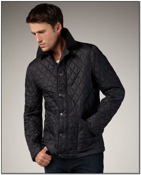 Mens Burberry Quilted Jacket Sale