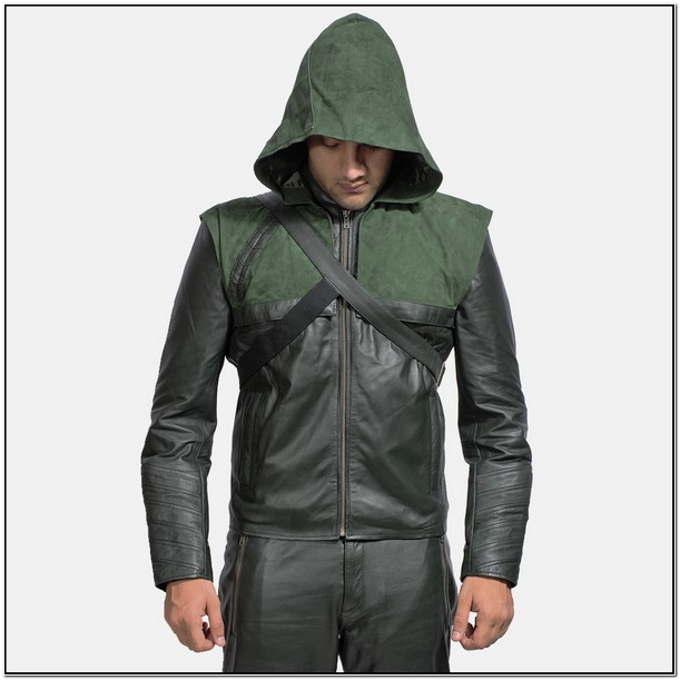 Mens Leather Jacket With Hoodie Insert