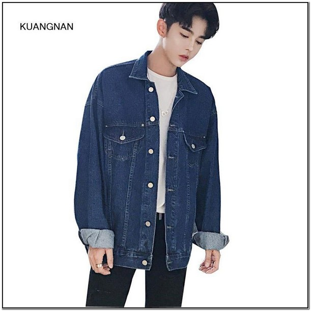 Mens Oversized Denim Jacket Australia