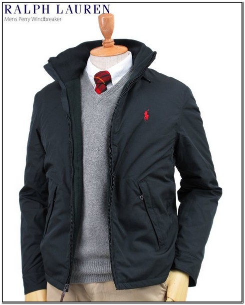 Mens Polo Jacket With Hood