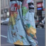 North Face Supreme Map Jacket For Sale