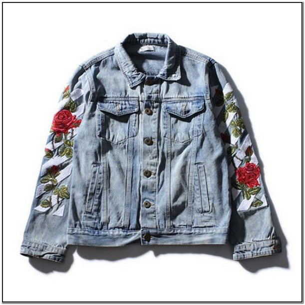 Off White Jean Jacket Mens