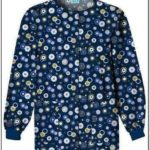 Printed Scrub Jackets Amazon