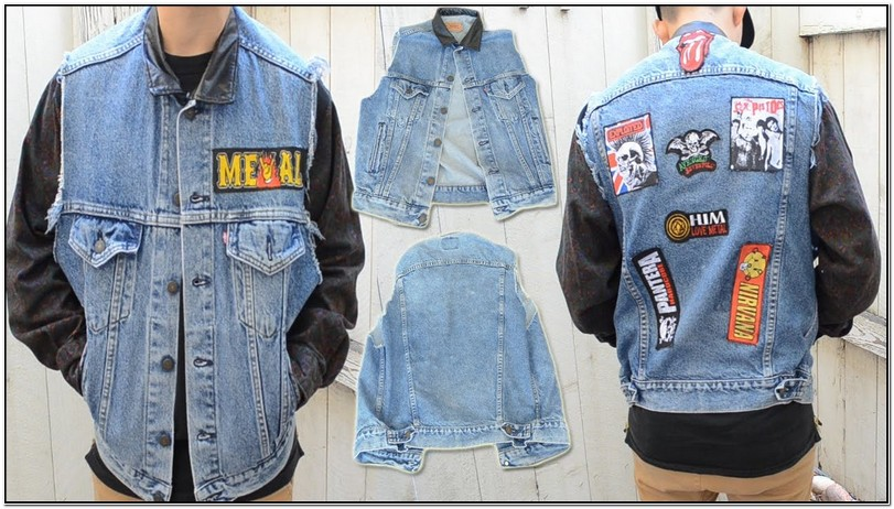 Put Patches On Jean Jacket