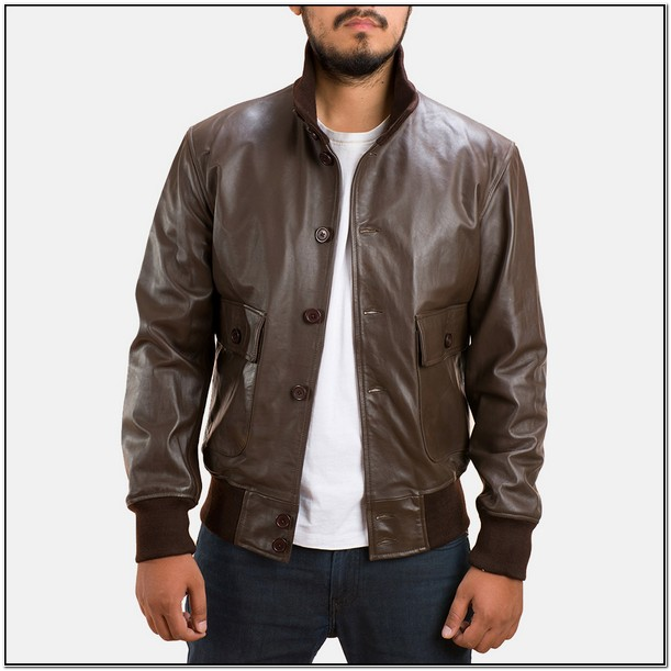 Real Leather Bomber Jackets