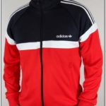 Red And Black Adidas Originals Jacket