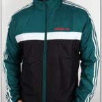 Red Black And Green Adidas Jacket