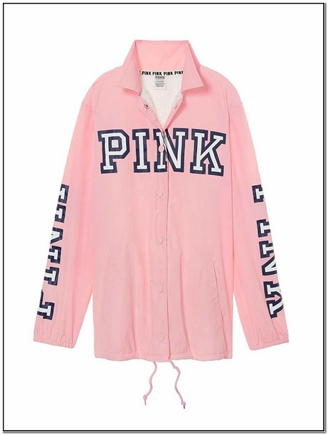 Sherpa Lined Coaches Jacket Victoria Secret