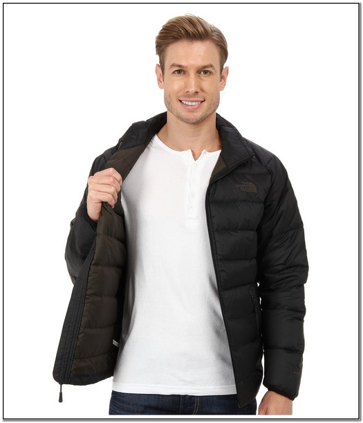The North Face Mens Aconcagua Puffer Jacket Black