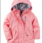 Toddler Boy Carter's Fleece Lined Hooded Rain Jacket